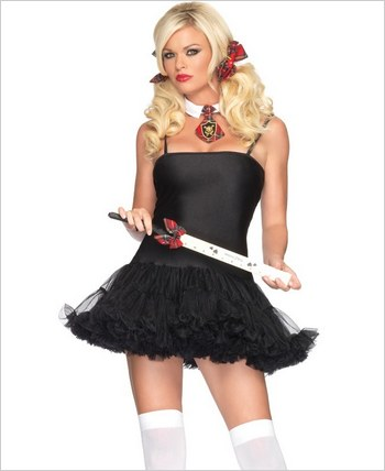 Black Petticoat Dress LA-83609
