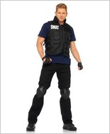 Swat Commander Sexy Adult Costume LA-83682