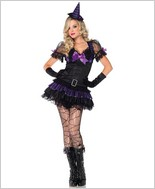 Black Magic Babe Costume LA-83781