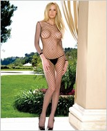 Leg Avenue® Indastrial Net Open Crotch Bodystocking LA-8380