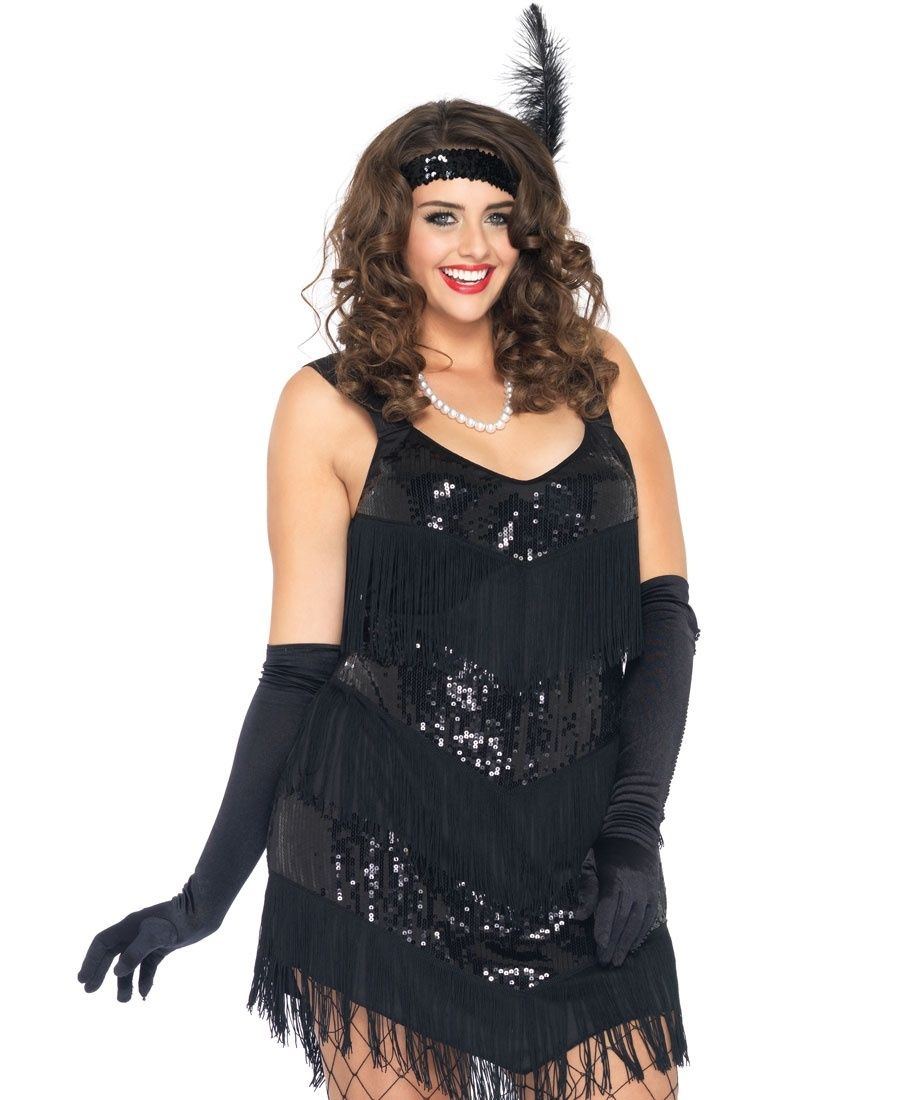 Roaring 20\'s Honey Costume - Plus Size | Leg Avenue - 83800X