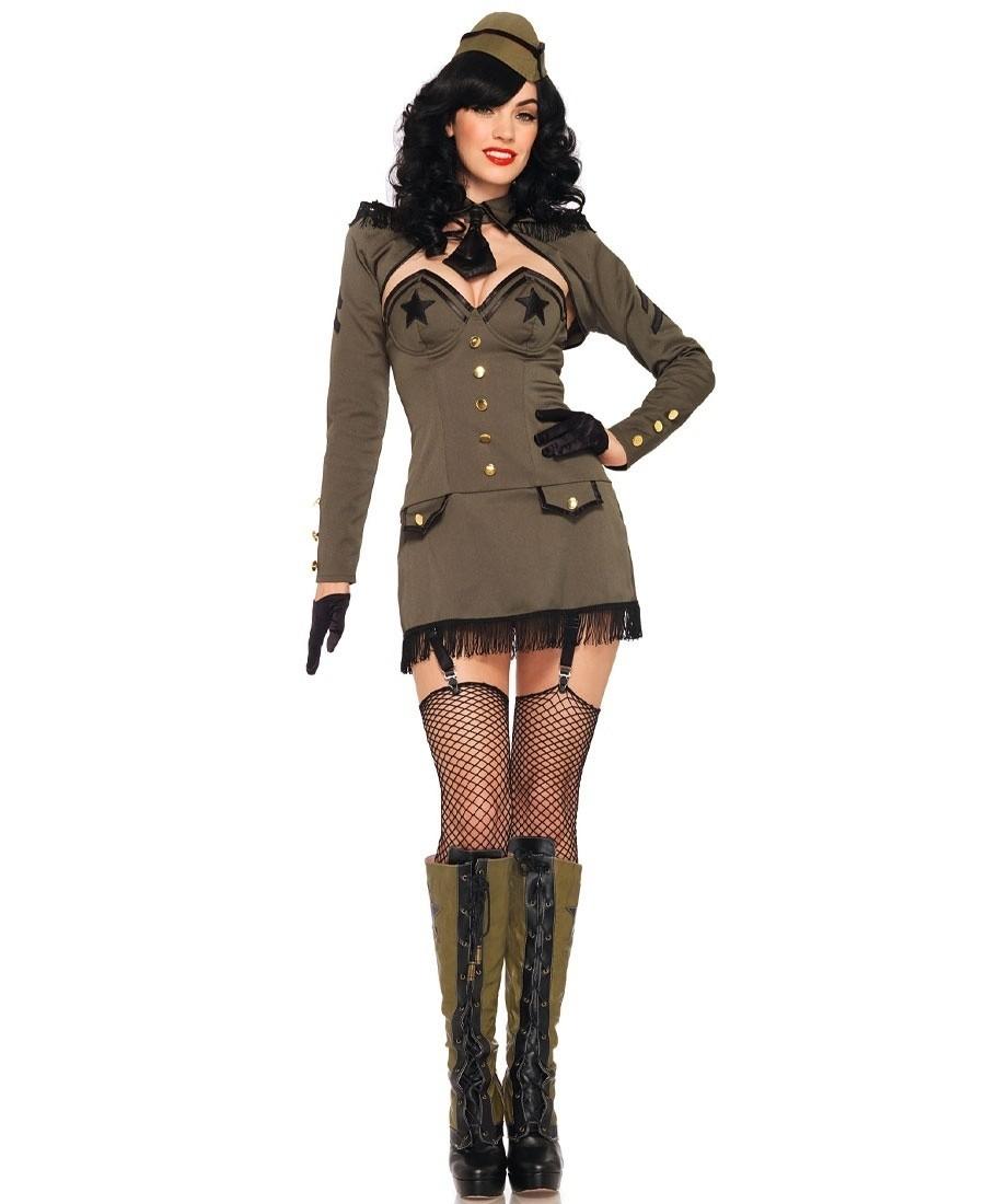 Adult woman in uniform