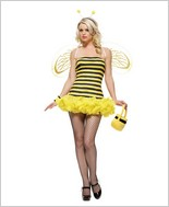 Leg Avenue® Honey Bee Sexy Adult Costume LA-8412