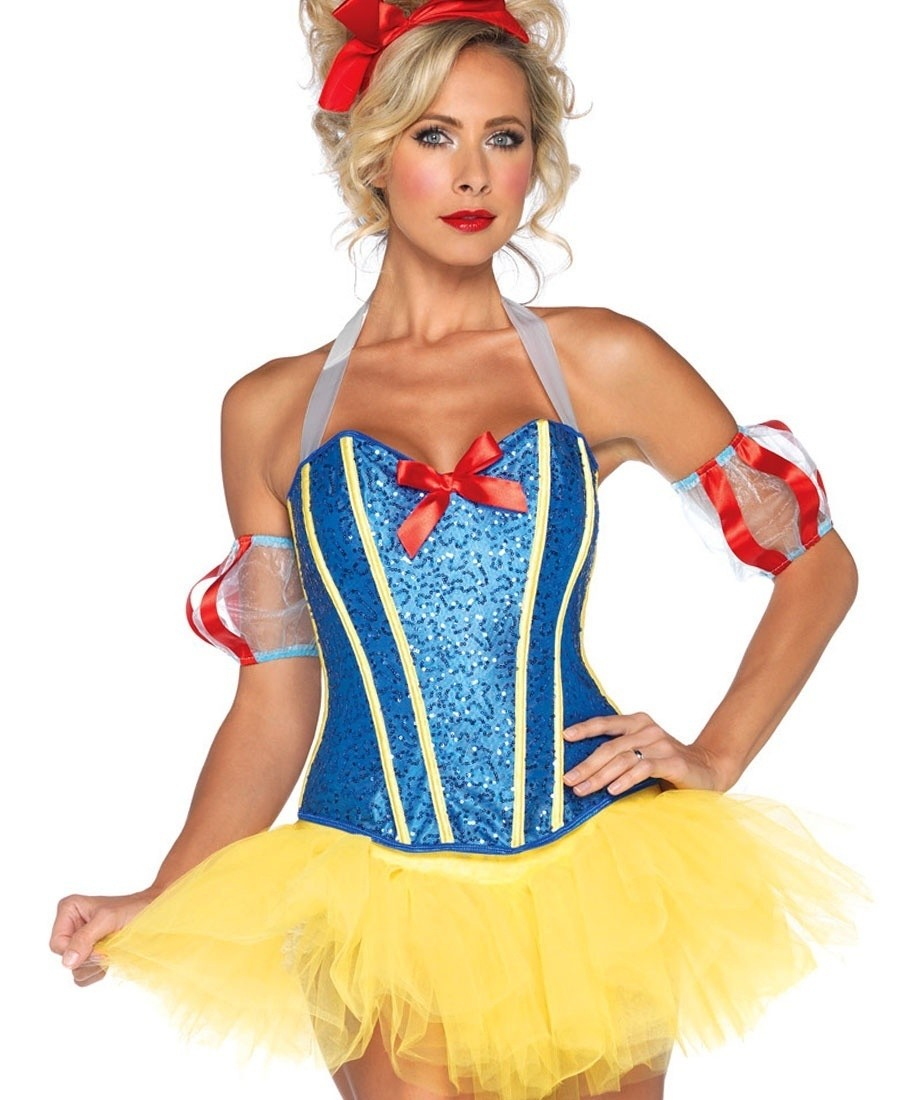 Sultry snow white adult costume remarkable