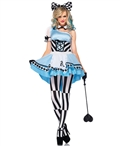 Psychedelic Alice Women's Halloween Costume LA-85225