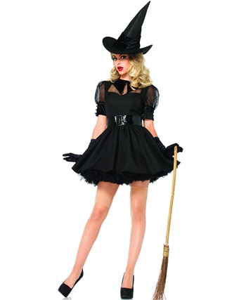 Bewitching Witch Women's Halloween Costume LA-85238
