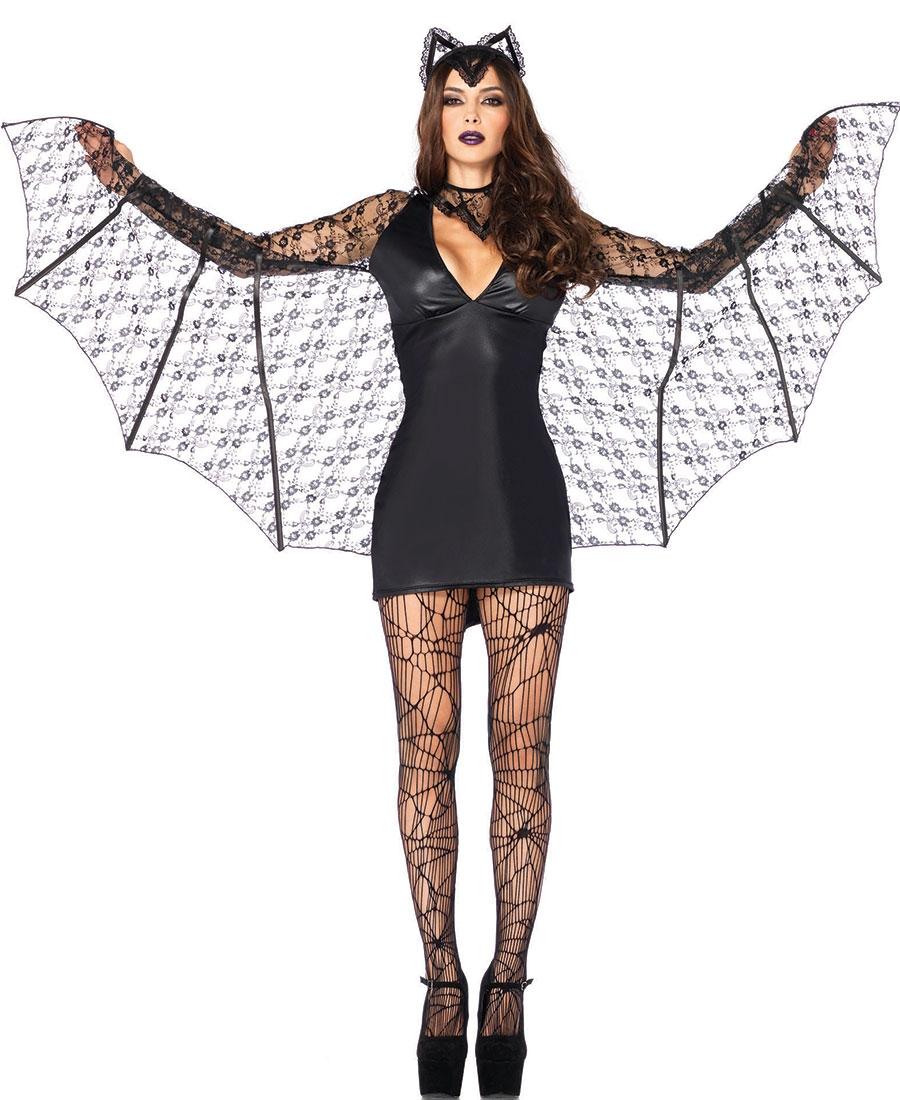 moonlight bat women 39 s halloween costume la 85241. Black Bedroom Furniture Sets. Home Design Ideas