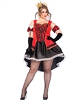 Plus Size Royally Sexy Queen Halloween Costume LA-85373X