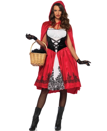 Classic Red Riding Hood Halloween Costume LA-85614