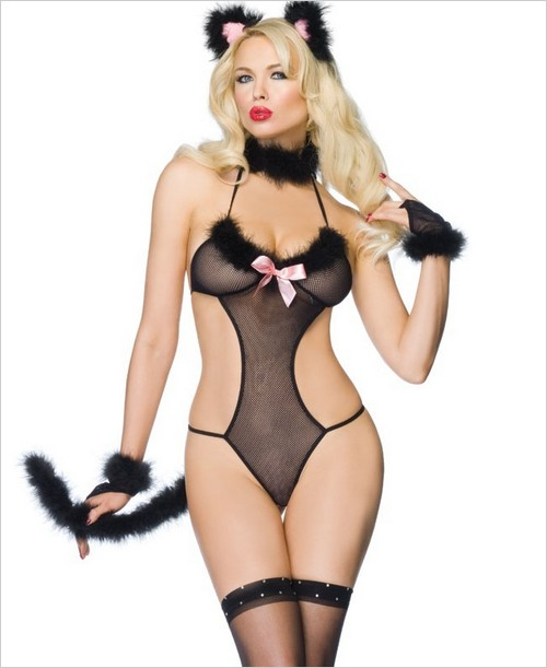 Sexy Kitty Plus Size Adult Costume