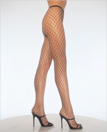Leg Avenue® Lycra Diamond Net Pantyhose LA-9005