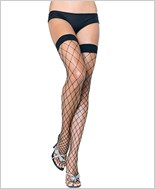 Leg Avenue® Fence Net Thigh Highs LA-9014