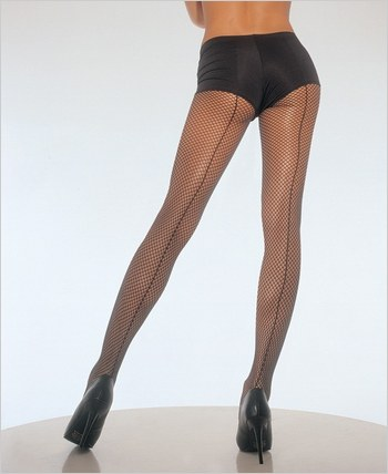 Leg Avenue® Backseam Fishnet Pantyhose LA-9015Q