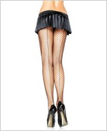 Leg Avenue® Lycra Industrial Net Backseamed Pantyhose LA-9076
