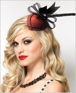 Leg Avenue Retro Lurex Fascinator Hair Clip LA-A1689