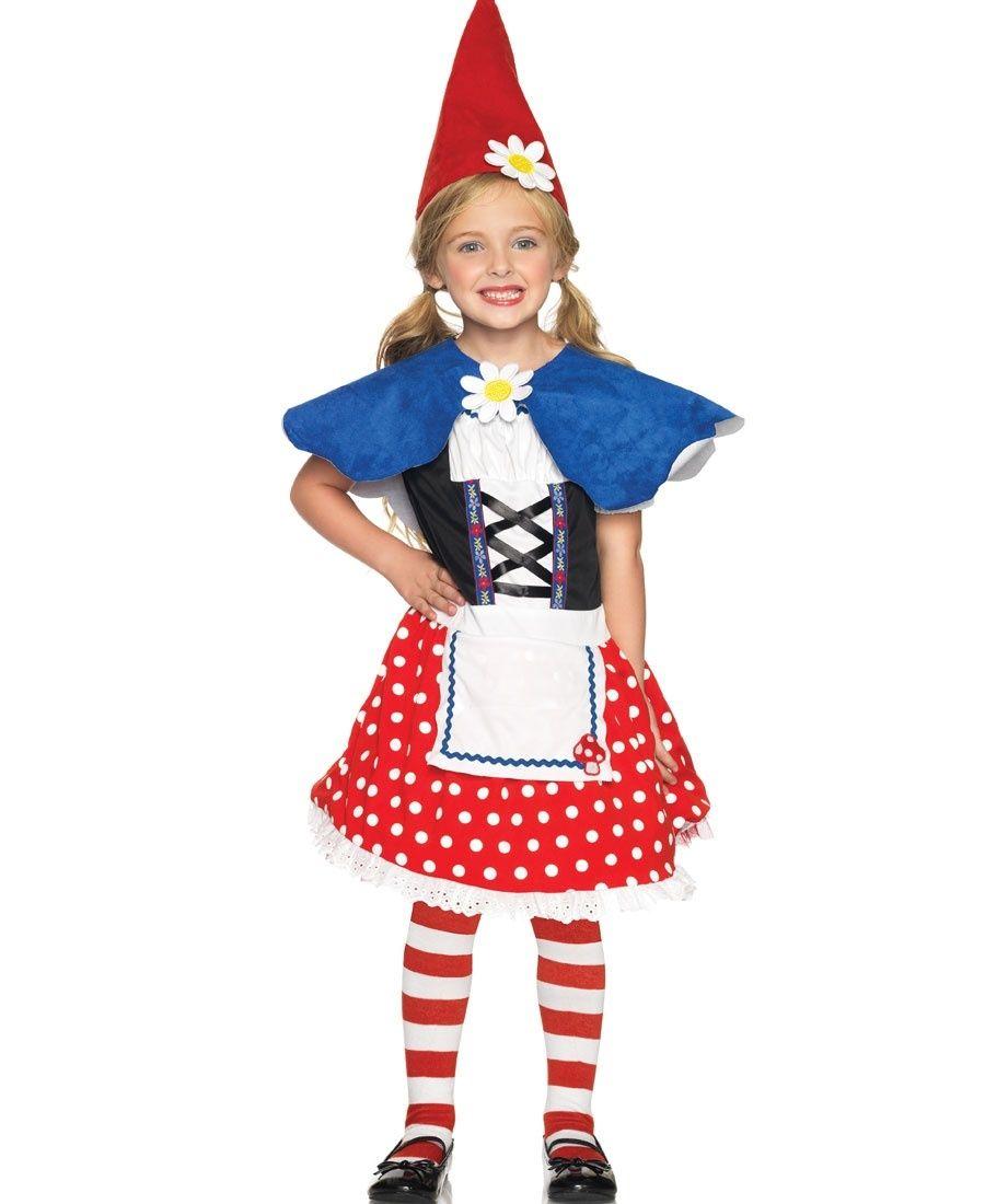 Garden Gnome Kids Costume