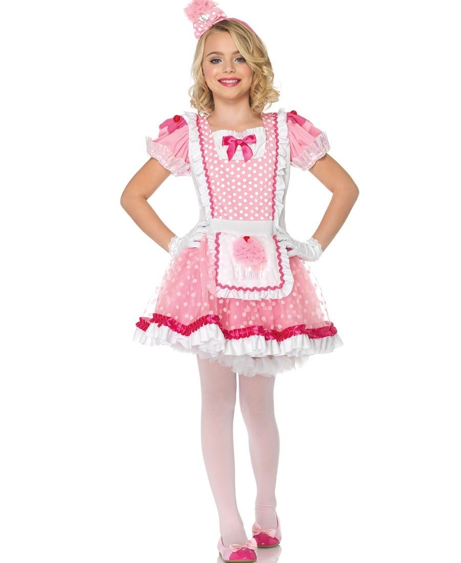 Pretty Pink Cupcake Kids Costume | Leg Avenue - C48194