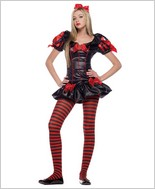 Leg Avenue® Miss Rebel Snow Princess Junior Costume LA-J48001