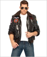 Top Gun Men'S Bomber Jacket Set LA-TG83703