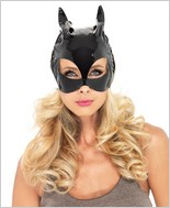 Vinyl Cat Woman Mask LA-V1013