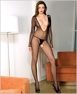 Music Legs® Fishnet Bodystocking ML-1089