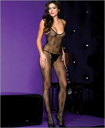 Spaghetti Straps Bodystocking ML-1117