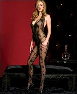 Lace V Neck Bodystocking ML-1137
