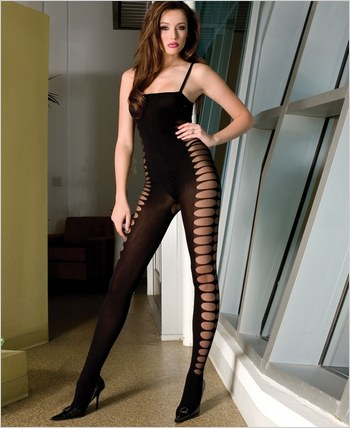 Music Legs® Opaque Bodystocking ML-1185