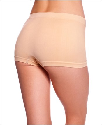 Beige Seamless Boy Short ML-120-Beige