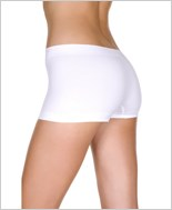White Seamless Boy Short ML-120-White