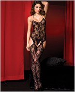 Stretch Lace Bodystocking ML-1343