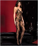 Lace Bodystocking With Cut Out Back ML-1472