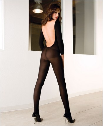 Music Legs® V-Back Bodystocking ML-1597