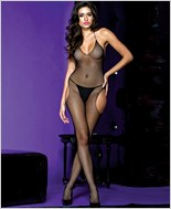 Fishnet Suspender Bodystocking ML-1624