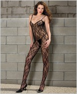 Music Legs® Lace Bodystocking ML-1875Q