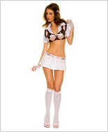 Music Legs® Sexy Classmate Adult Costume ML-25002