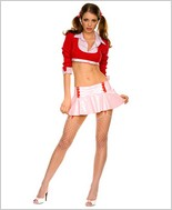 Music Legs® Miss Detention Cutie Sexy Adult Costume ML-25035