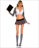 Celebrity School Girl Outfit ML-25055