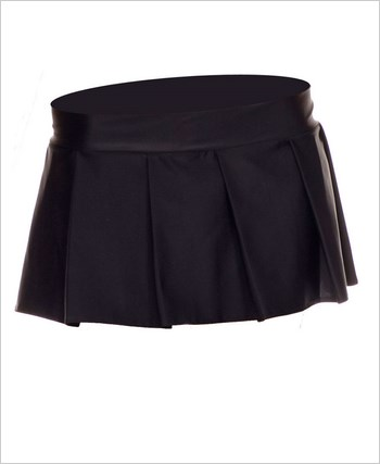 Black Schoolgirl Skirt ML-25075-Black