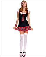 Sweet School Girl Costume ML-25078