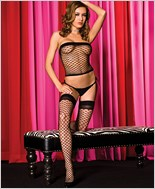 Fishnet Cami And Stockings Set ML-2997