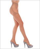 Music Legs® Lycra Sheer Suspender Pantyhose ML-338
