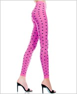 Music Legs® Opaque Polka Dot Leggings ML-35218