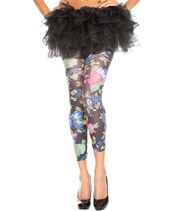 Blooming Flowers Leggings ML-35478
