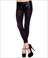 Spandex Opaque Footless Tights