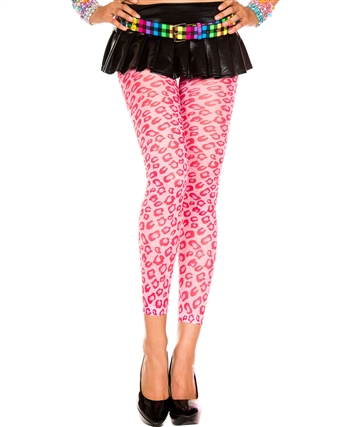 Cheetah Print Leggings ML-35807