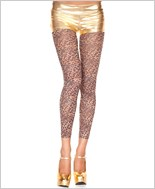 Opaque Leopard Print Leggings