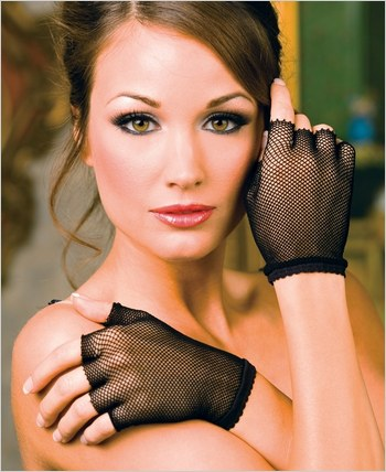 Music Legs® Fishnet Fingerless Gloves ML-401