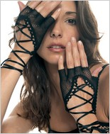 Music Legs® Lycra Fishnet Wrist Length Warmer ML-413