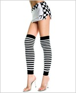 Music Legs® Over The Knee Stripe Warmer ML-4249